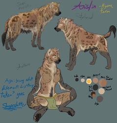 Aislin Character Sheet Redo (Hyena Form)