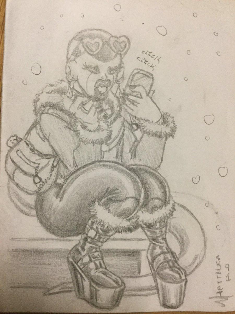 Most recent image: Sketchables: FreezyPop's Winter Wear