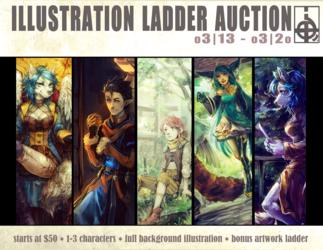 ::AUCTION:: Illustration Ladder Auction [CLOSED]