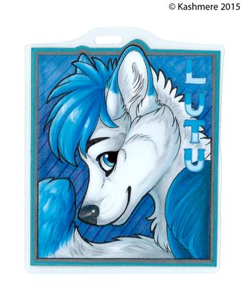 Lutu Badge [Raffle winner!]