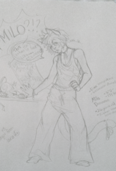 MILO-- I-I swear it .. it isn't what it looks like...