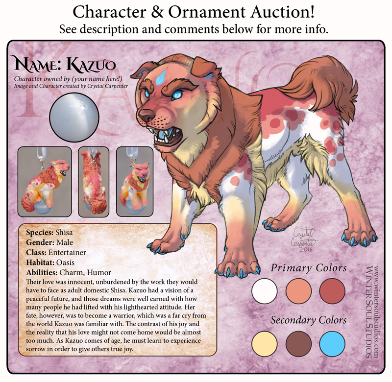 Most recent image: Character Auction - Kazuo - Open!
