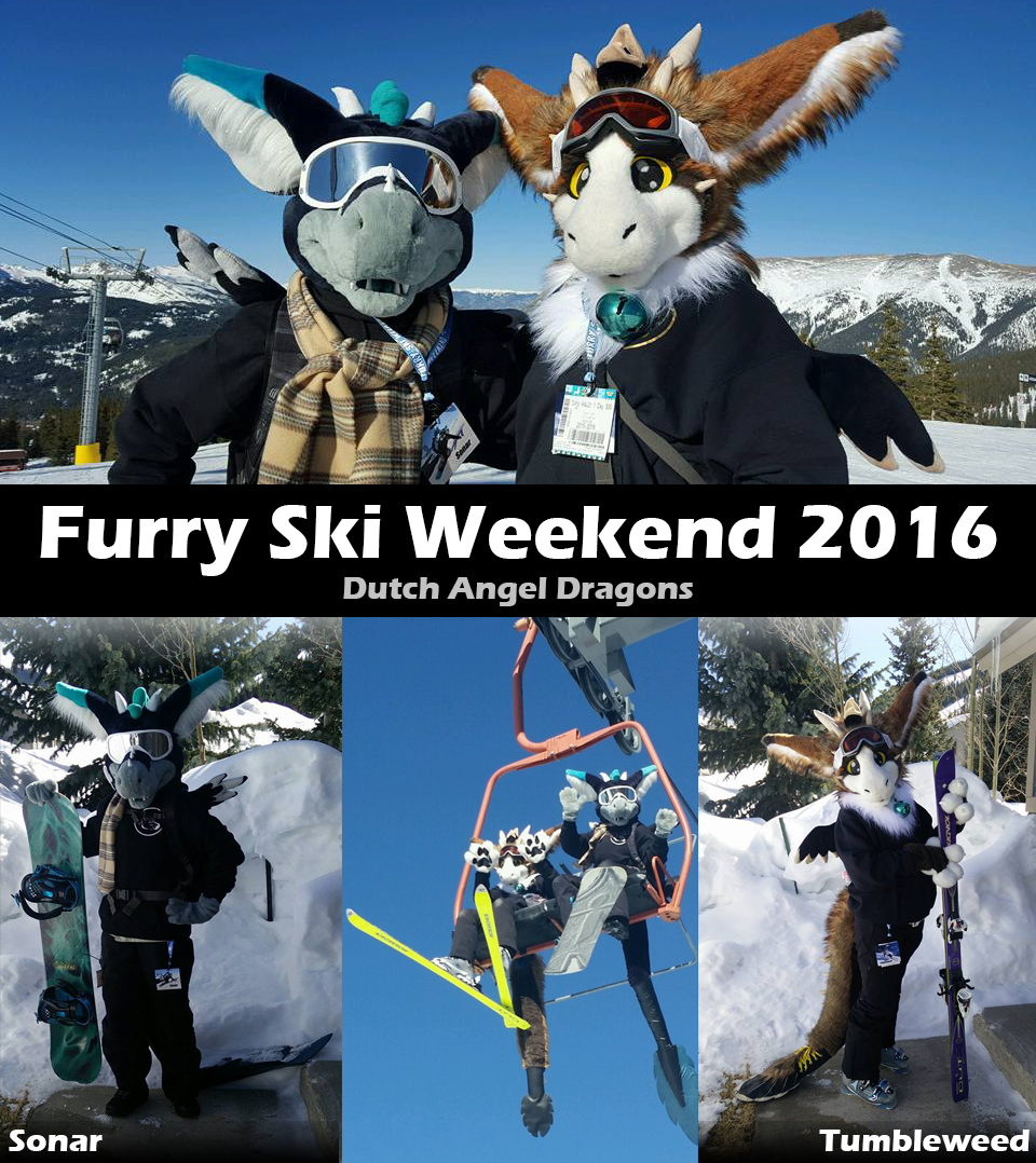Dutch Angel Dragons @ Furry Ski Weekend 2016