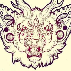 Henna cat