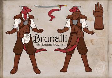 Brunalli the Duelist!