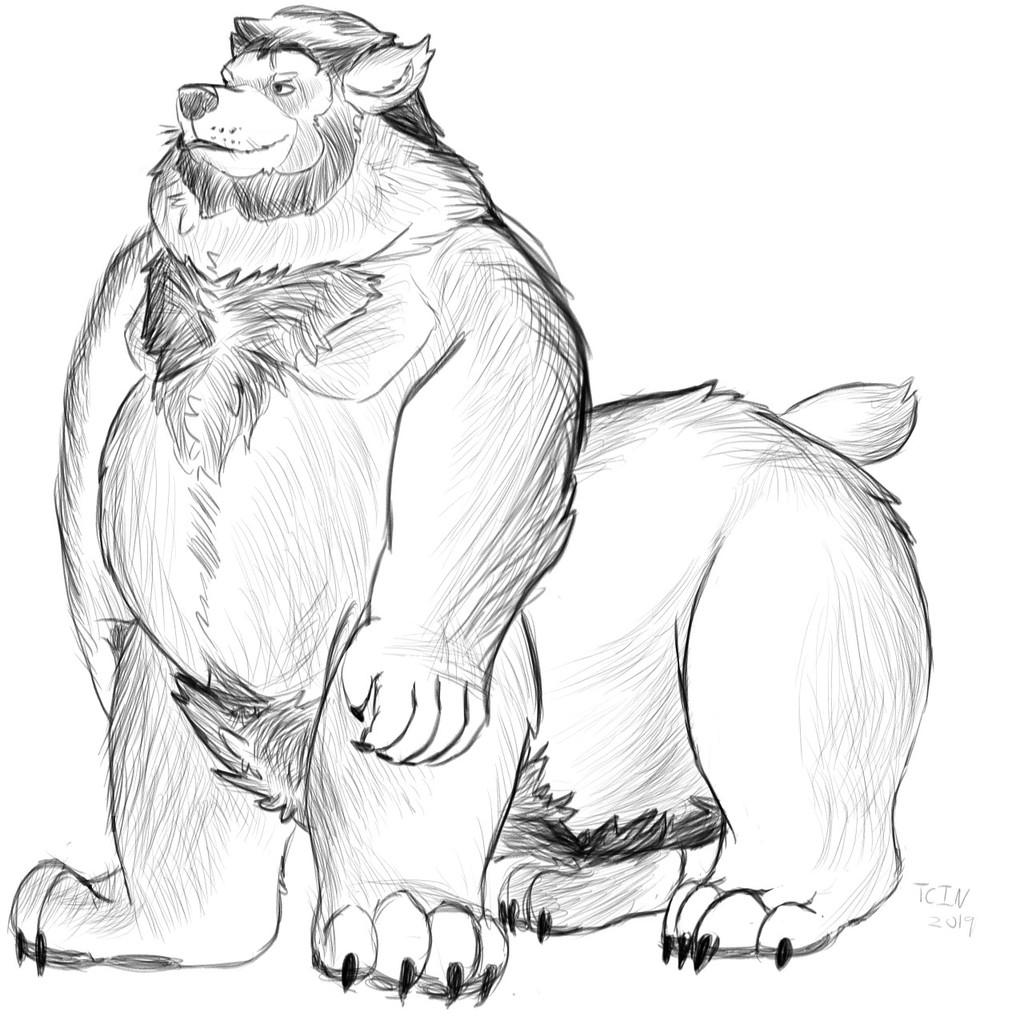 Werebear taur