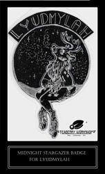 Midnight Stargazer: Lyudmylah