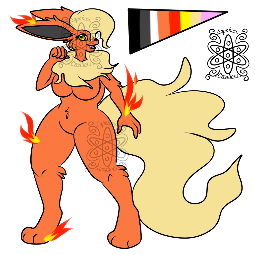 Female Flareon +Design 4 Sale+