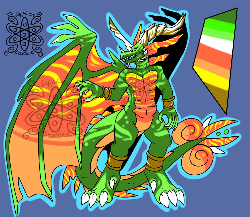 Most recent image: Festive Dragon +Design+ (SOLD)