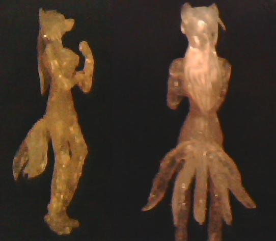 Kia sculpture hot glue