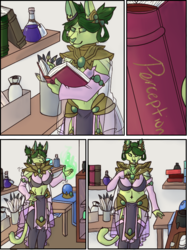 Don't let her in a magic shop (Pt. 1)
