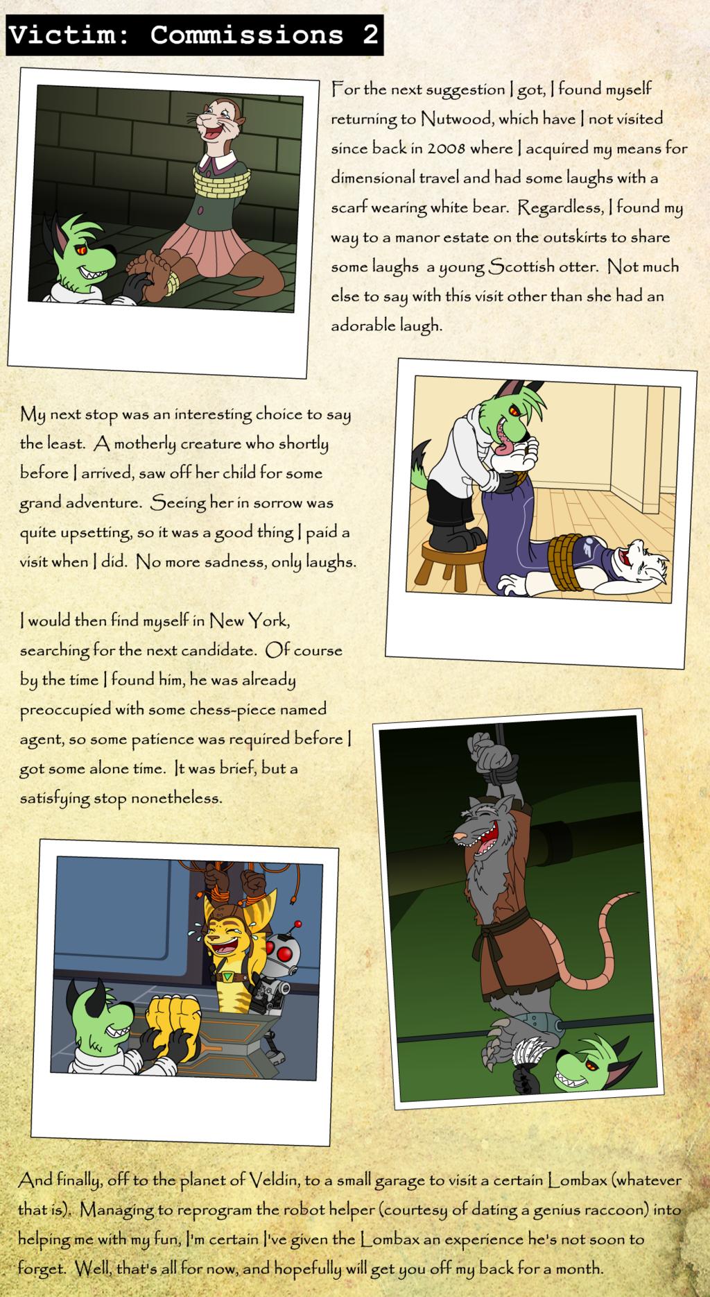 Victim 19: Commissions Part 2