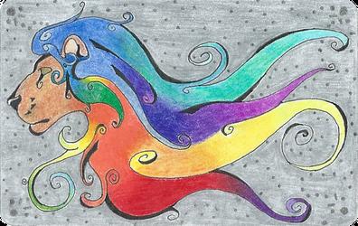 Blazing Colors: Pride of Savannah