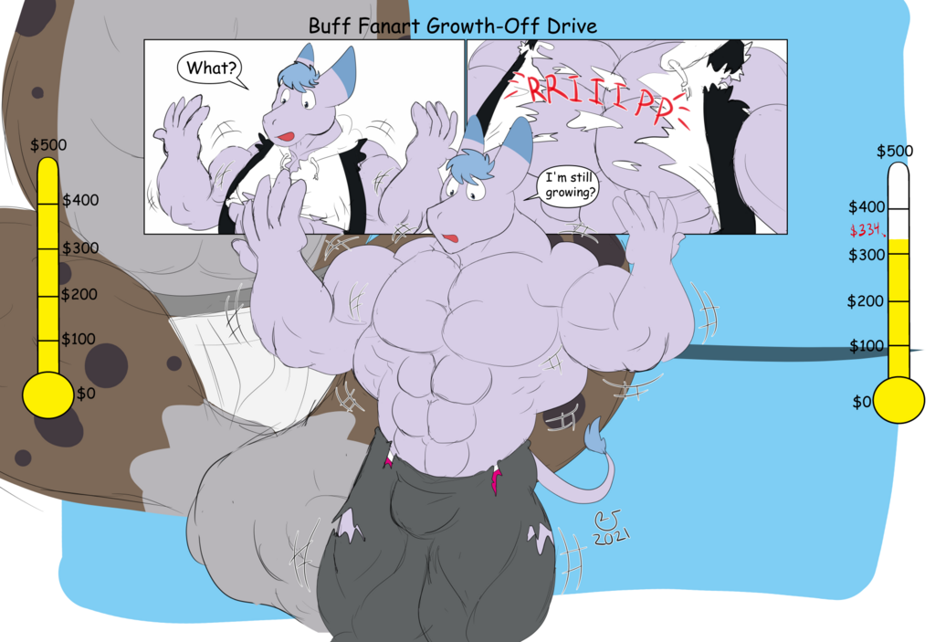 Buff Fanart Growth-Off Drive: Haida Vs Tadano 3T