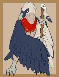 [Commission]-Bearded Vulture Shaman