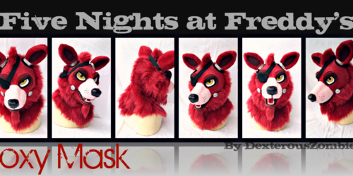 Five Nights at Freddy's Foxy Mask For Sale