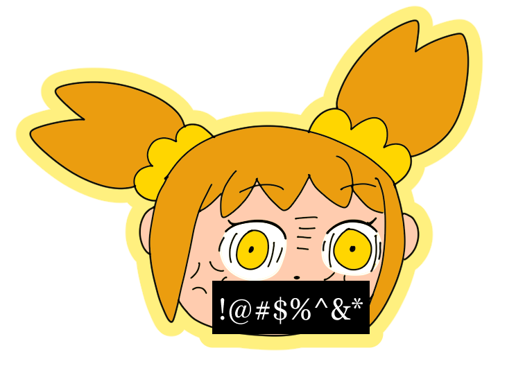 Popuko's Foul Mouth