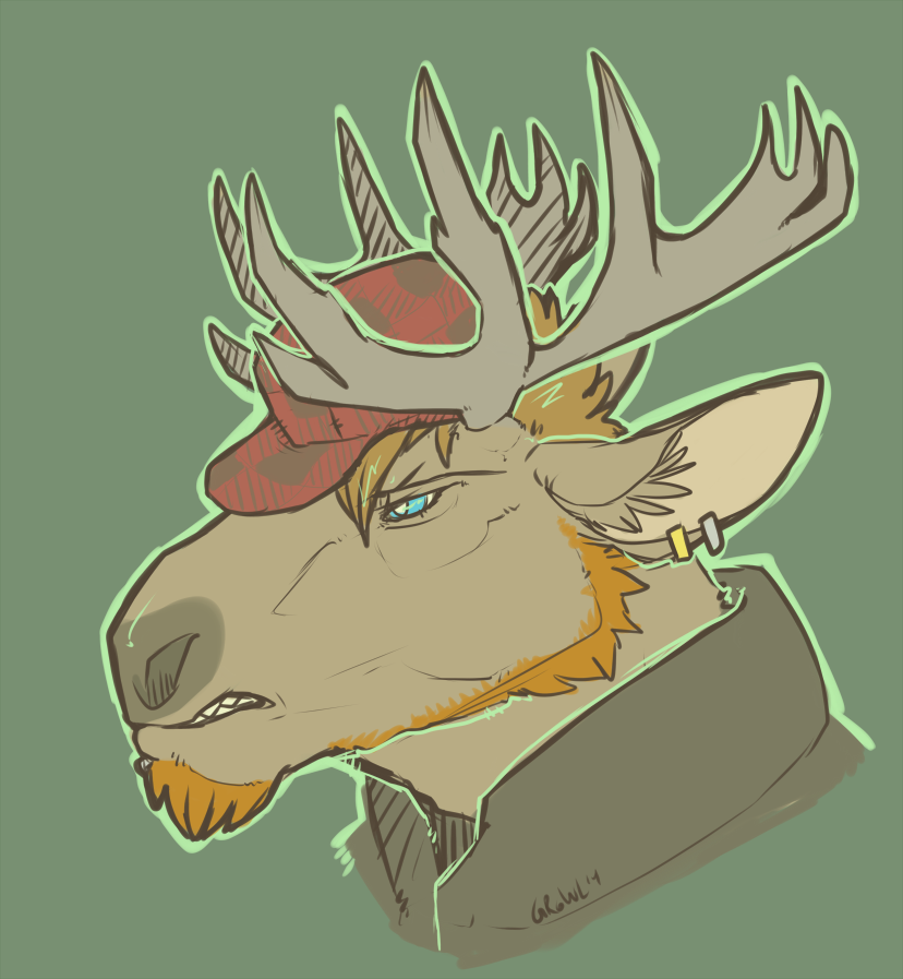 """""""What a Moose"""" by tape"""