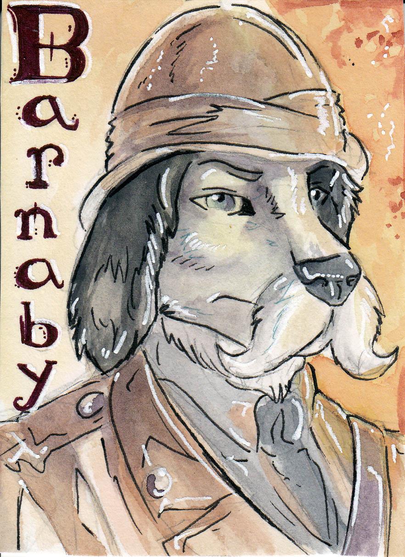 Safari Barnaby Badge by Red Coat Cat