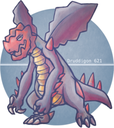 Pika Number: Druddigon