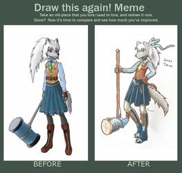 Draw this again - Sorcha