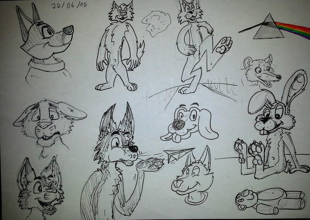 doodles time !