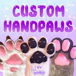 Custom Fursuit Handpaws By Dane