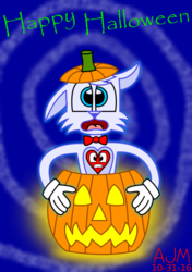 Ghost Hyper And The Pumpkin