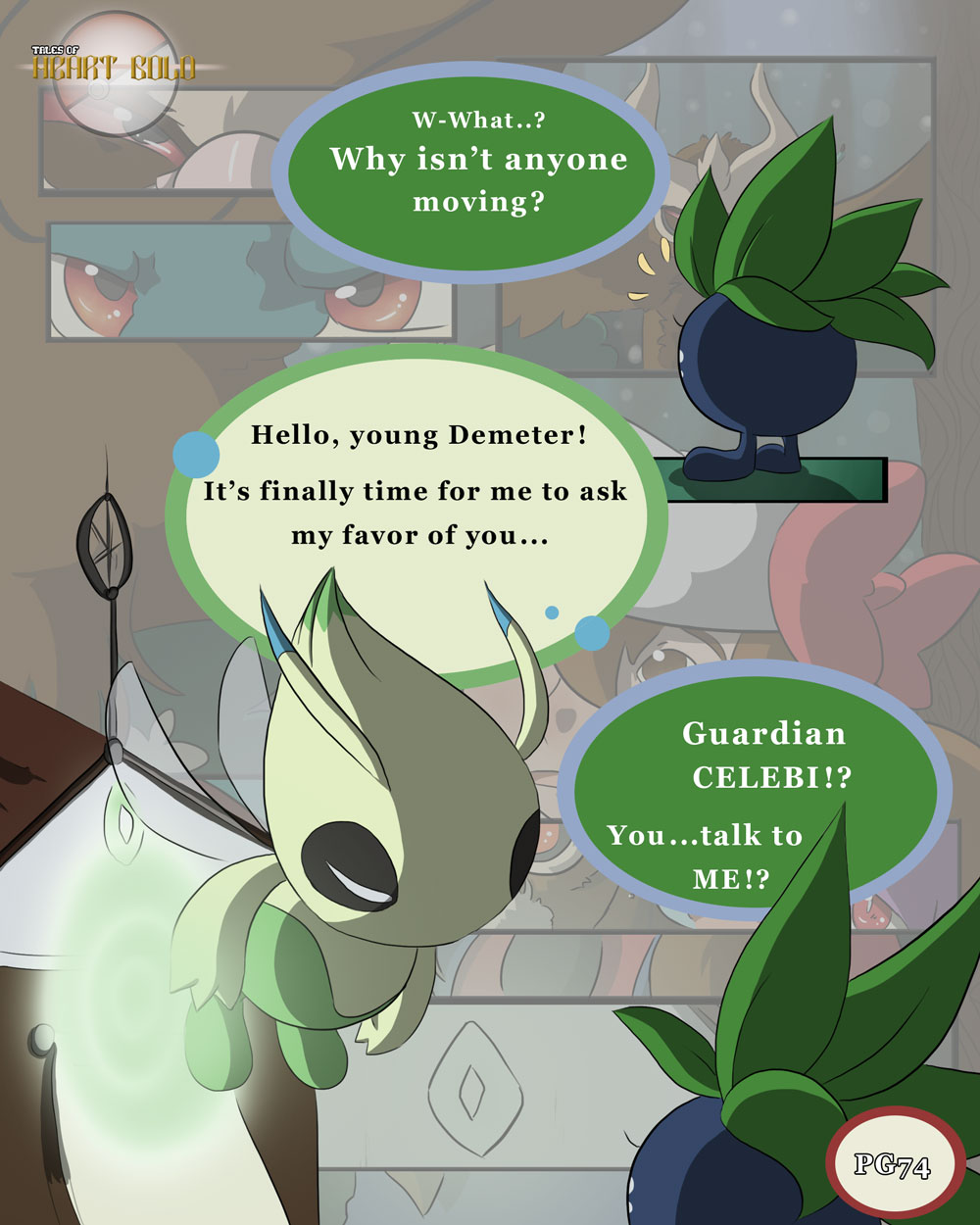 Into Woods PG28: Celebi's First Appearance