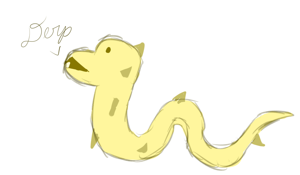 Derp Dragon Draw in 10 minute art Challenge — Weasyl