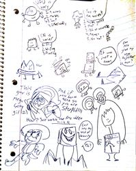 Doodles with my brother 3