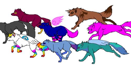 Rainbowpaws and the gang