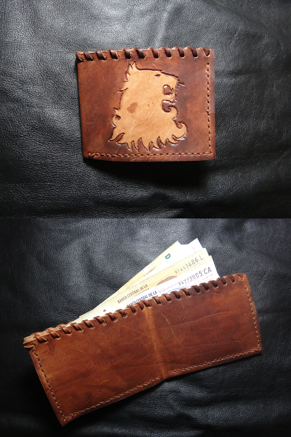 Lannister leather wallet
