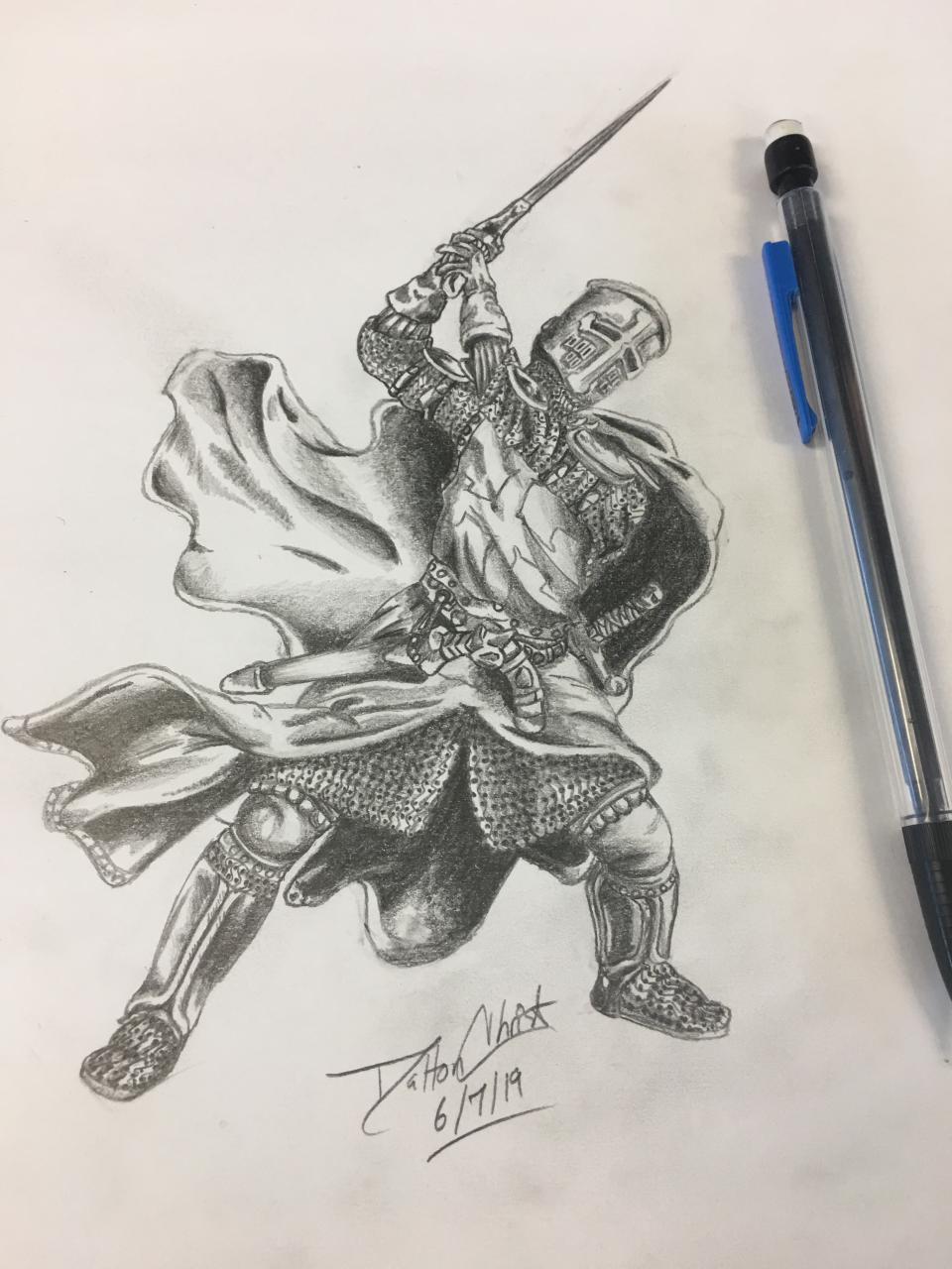 Most recent image: Templar