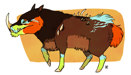 Thorn Boar - A Paypal Adopt - SOLD