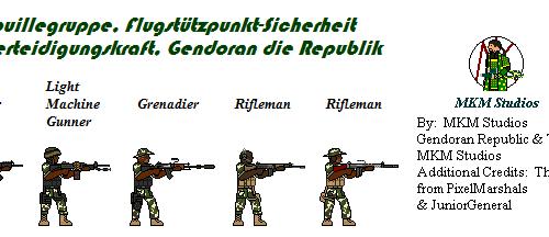 Gendoran DAF Patrol Squad