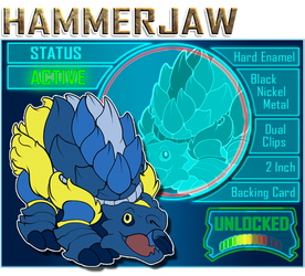 Hammerjaw is unlocked!