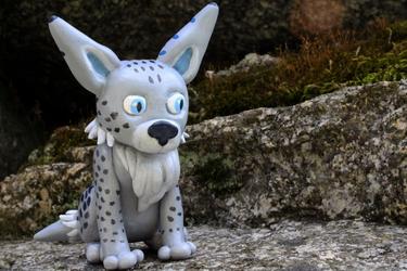 Lynx in polymer clay !