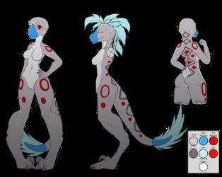 Tasia The Deinonychus - New Ref Sheet