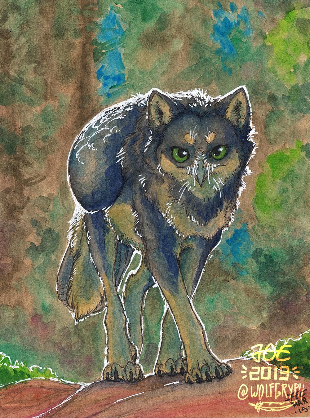 Toned Tan Watercolor - Joe