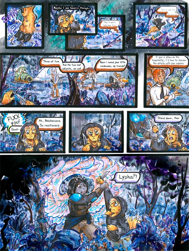 Most recent image: [inhuman] arc 16 pg 5