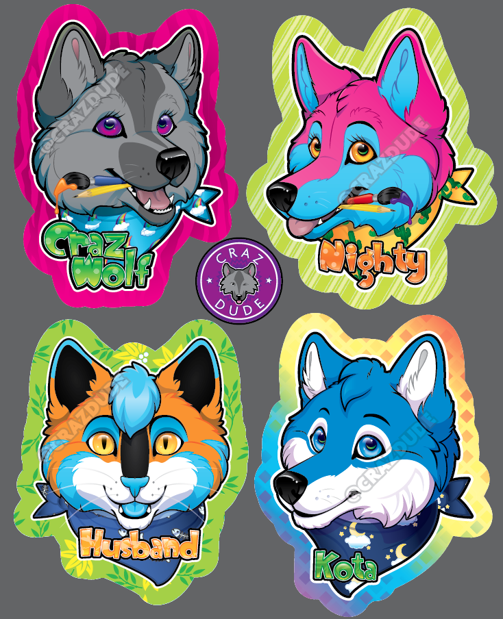 Badges for FurTheMore Roomies