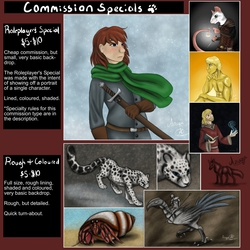 Commission Specials