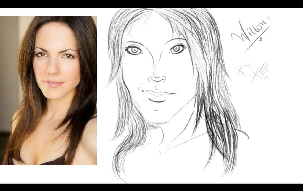 Willow Hawthorne Sketch 1