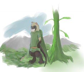 Illas, Giant Ferret of the Beanstalk
