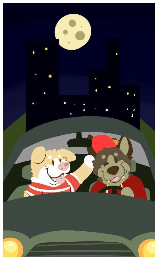night drive with you.
