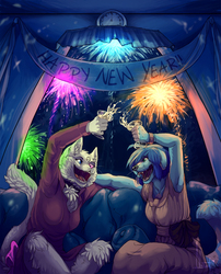 Happy New Year! - Commission