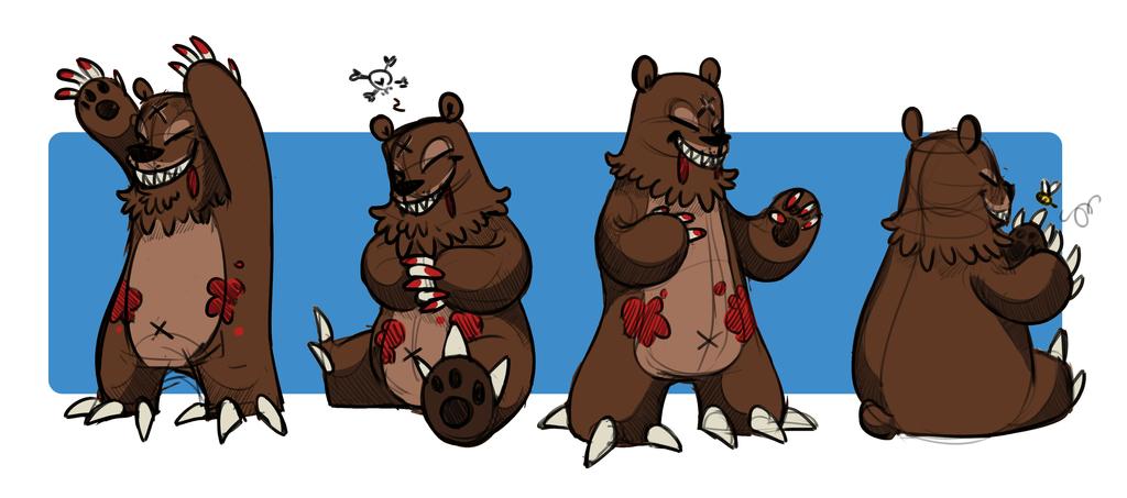 A Beary Terrible Friend