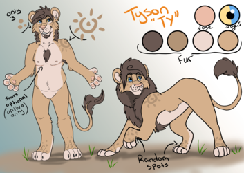 Tyson reference sheet. (Updated)