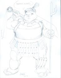 (not my art) eastern Juggernaut Ursa